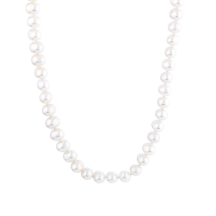 Pearl Necklace in 10ct Yellow Gold