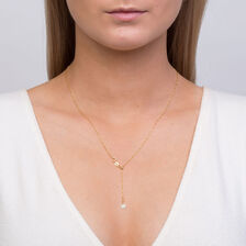 "50cm (20"") Adjustable Twist Chain in 10ct Yellow Gold"
