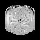 Sterling Silver Filigree Flower Charm