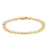 "21cm (8.5"") Curb Bracelet in 10ct Yellow Gold"