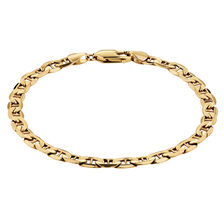 "19cm (7.5"") Anchor Bracelet in 10ct Yellow Gold"