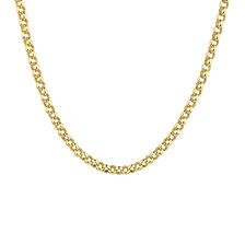 "55cm (22"") Hollow Belcher Chain in 10ct Yellow Gold"