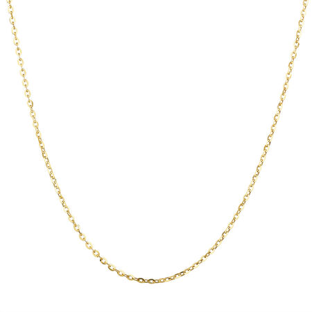 "40cm (16"") Chain in 10ct Yellow Gold"
