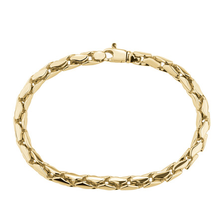 "19cm (7.5"") Bracelet in 10ct Yellow Gold"