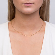 """40cm (16"""") Chain in 10ct Yellow Gold"""