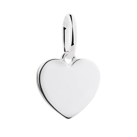 Sterling Silver Heart Mini Pendant