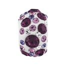 Purple Crystal Charm