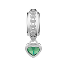 Sterling Silver May Heart Charm