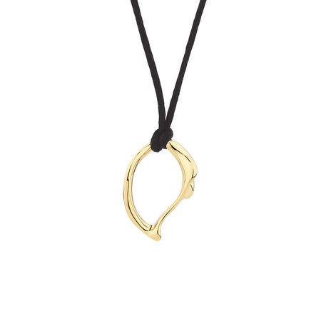 Small Spirits Bay Solid Pendant in 10ct Yellow Gold
