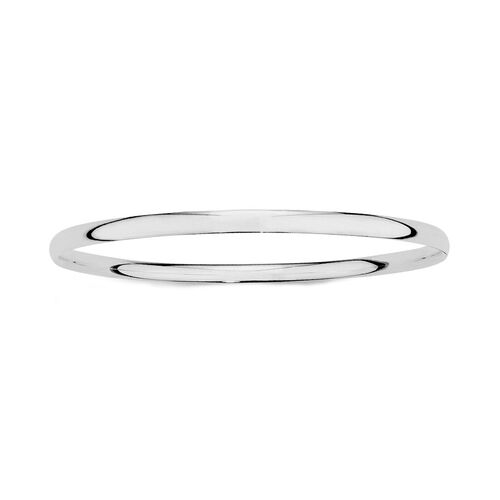 65mm Bangle in Sterling Silver