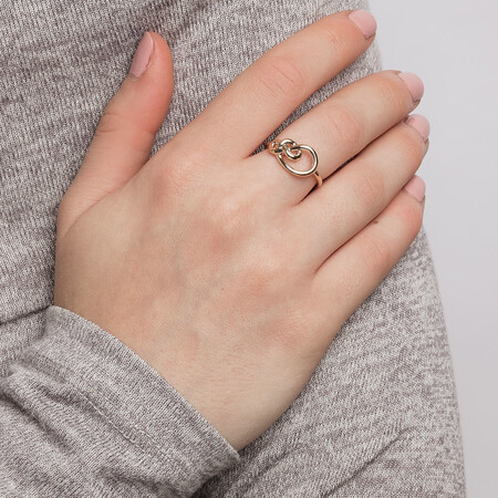 Knots Ring in 10ct Yellow Gold