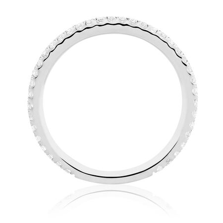 Sir Michael Hill Designer GrandAllegro Wedding Band with 1/4 Carat TW of Diamonds in 14ct White Gold