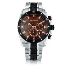 Men's Chronograph Watch in Copper Tone Stainless Steel