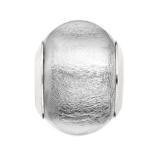 Clear Murano Glass Charm