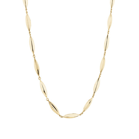 Beaded Necklace in 10ct Yellow Gold