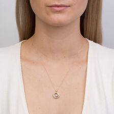 Everlight Pendant with 0.33 Carat TW of Diamonds in 10ct Yellow Gold