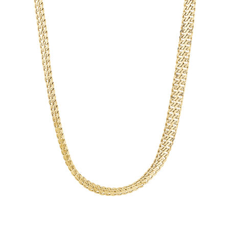 "45cm (18"") Fancy Chain in 10ct Yellow Gold"