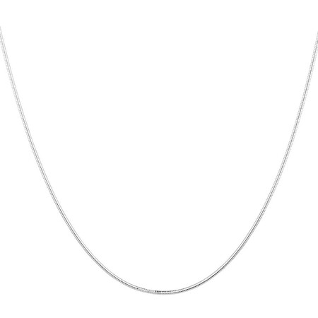 "45cm (18"") Snake Chain in Sterling Silver"