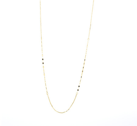 55cm Mirror Chain in 10ct Yellow Gold
