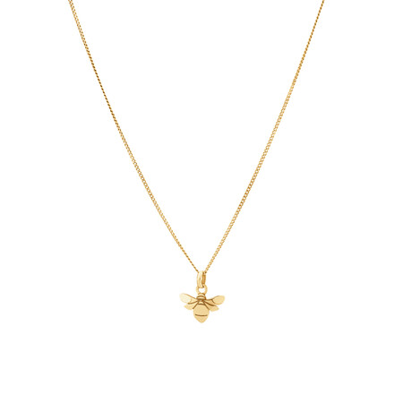Bumble Bee Pendant In 10ct Yellow Gold