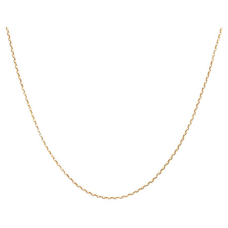 "40cm (16"") Hollow Belcher Chain in 10ct Yellow Gold"