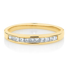 Online Exclusive - Ring with 0.30 Carat TW of Diamonds in 18ct Yellow Gold