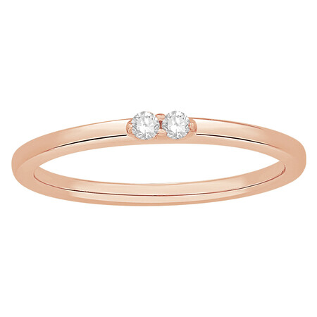 Stacker Ring in 10ct Rose Gold