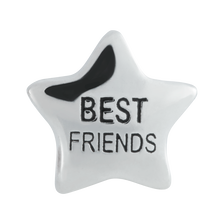 Sterling Silver 'Best Friends' Charm