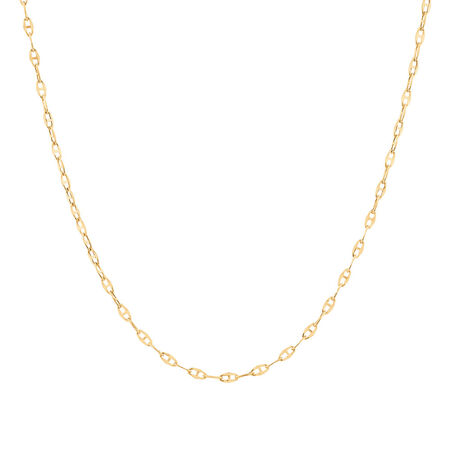 "40cm (16"") Fancy Chain in 10ct Yellow Gold"