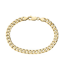Curb Bracelet in 10ct Yellow Gold