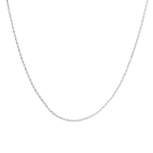 50cm Wheat Chain in Sterling Silver