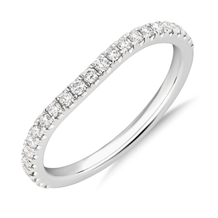 Sir Michael Hill Designer Wedding Band with 0.25 Carat TW of Diamonds in 18ct White Gold