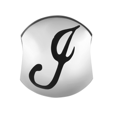 Sterling Silver 'J' Charm