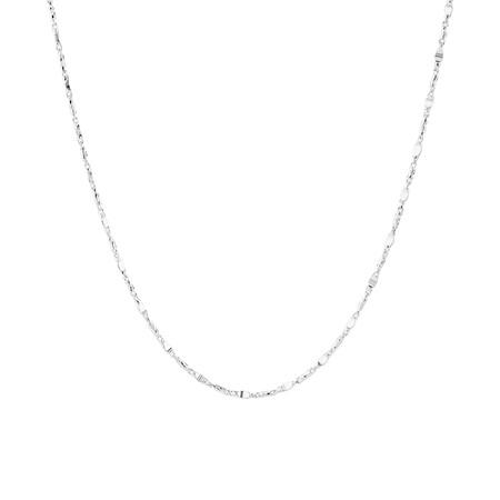 50cm Fancy Chain In Sterling Silver