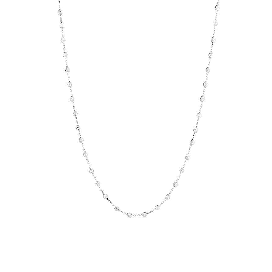 "45cm (18"") Fancy Chain in 10ct White Gold"
