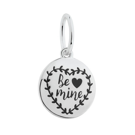 """Be Mine"" Mini Pendant in Sterling Silver"