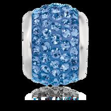 Blue Crystal Charm