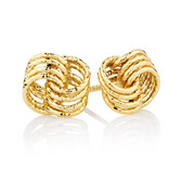 Stud Earrings in 10ct Yellow Gold