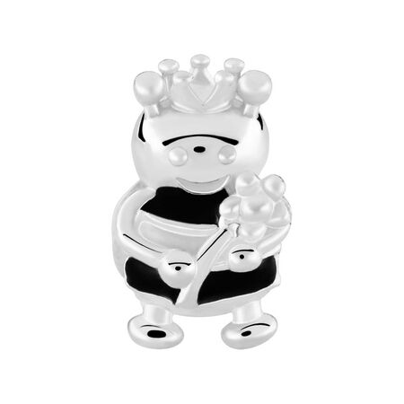 Sterling Silver Queen Bee Charm
