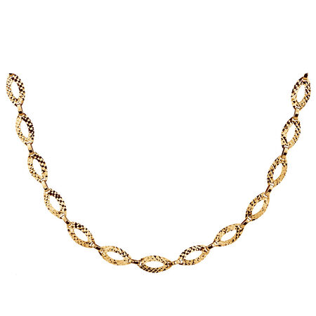 """45cm (18"""") Necklace in 10ct Yellow Gold"""