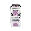 Sterling Silver & Pink Cubic Zirconia Stopper