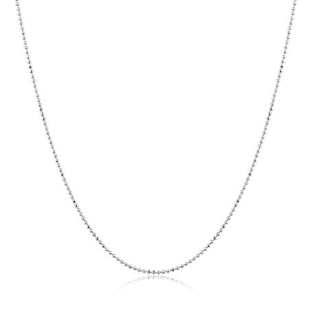 """50cm (20"""") Chain in Sterling Silver"""