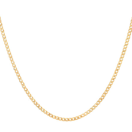 """Online Exclusive - 50cm (20"""") Curb Chain in 10ct Yellow Gold"""