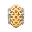 Diamond Set, 10ct Yellow Gold Charm