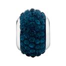Dark Blue Crystal Charm