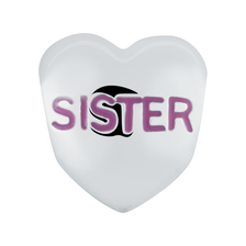 Sterling Silver 'Sister' Charm