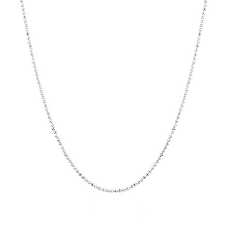"""60cm (24"""") Chain in Sterling Silver"""