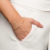 "19cm (7.5"") Singapore Bracelet in 10ct Yellow Gold"