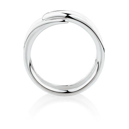 Mark Hill Slim Ring in 10ct White Gold
