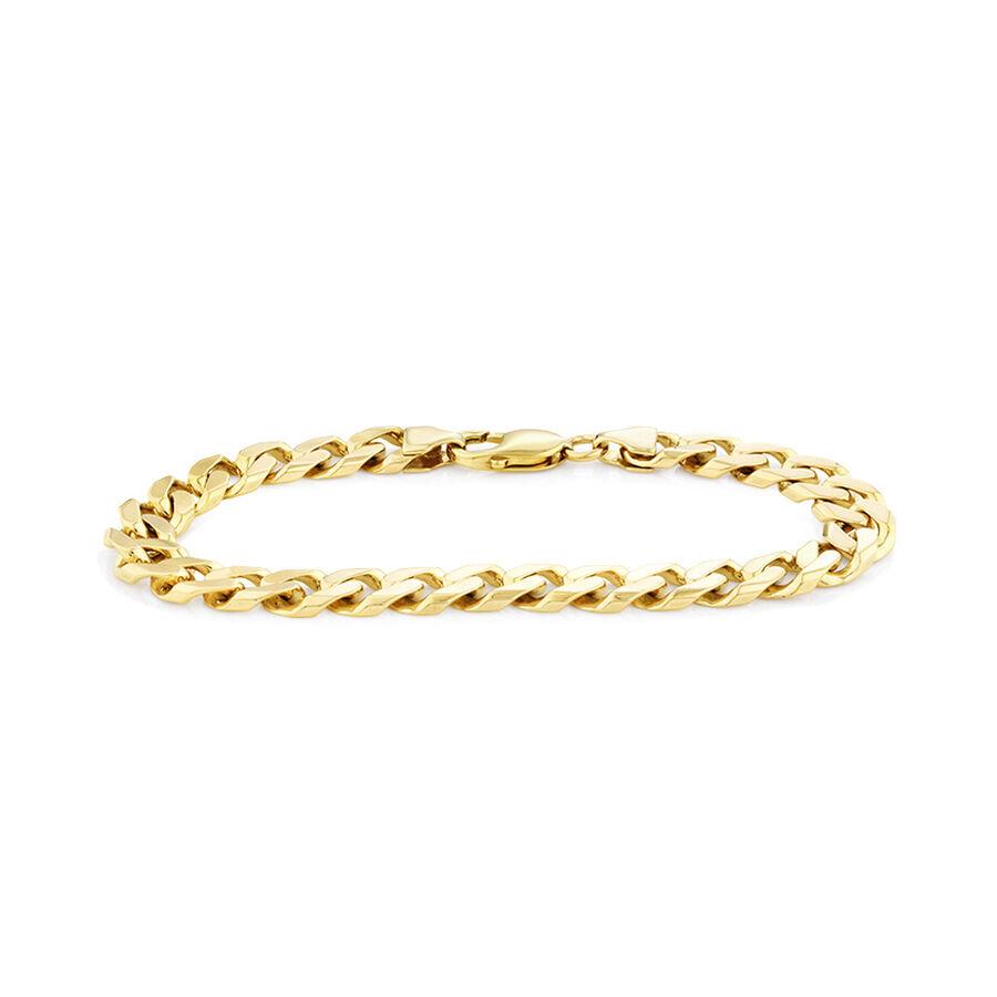 "23cm (9"") Bracelet in 10ct Yellow Gold"